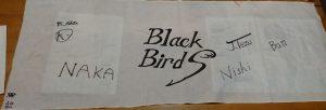 BlackBirds結成